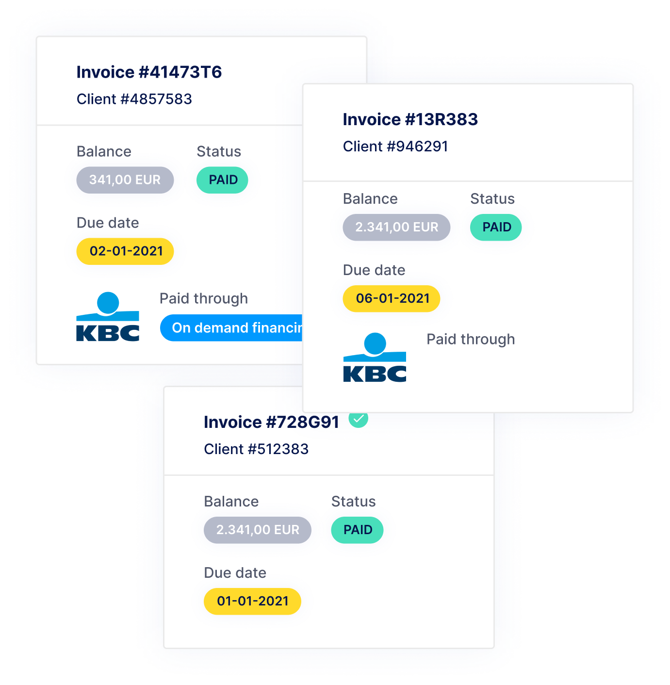 on demand financing